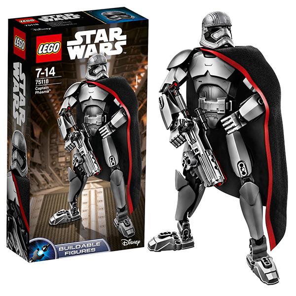 Купить Lego Star Wars 75118 Лего Звездные Войны Капитан Фазма, Конструктор LEGO