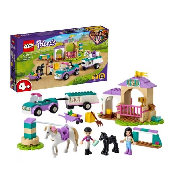 Купить LEGO Friends 41441 Конструктор ЛЕГО Подружки Тренировка лошади и прицеп для перевозки, Конструкторы LEGO