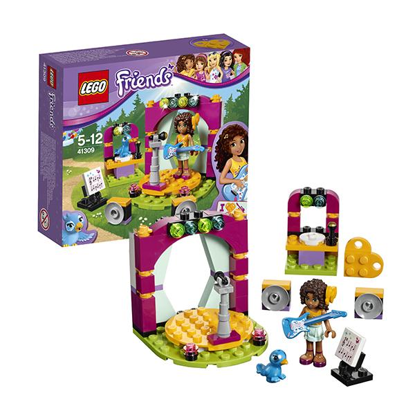 Lego Friends 41309 Конструктор Лего Подружки Музыкальный дуэт Андреа