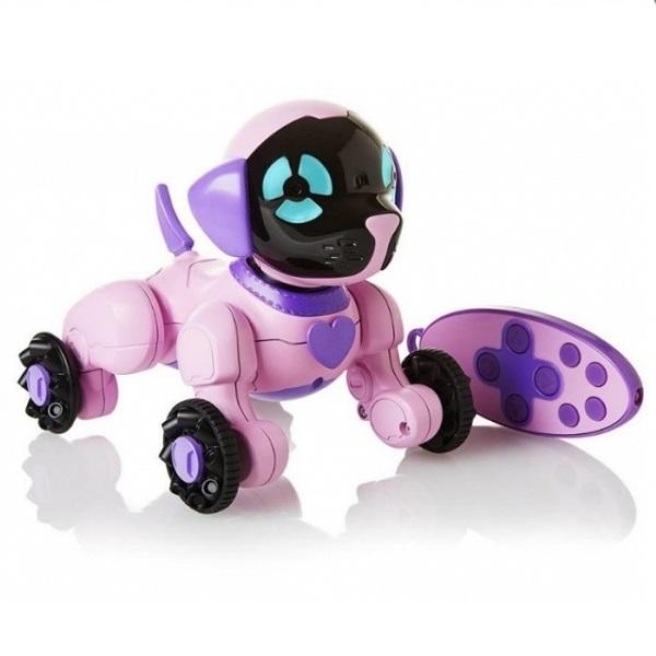 Купить Wow Wee 2804-3817 Собачка Чиппи розовый, Интерактивная игрушка Wow Wee
