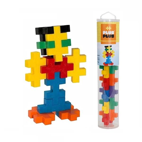 Plus Plus 3224 Разноцветный конструктор для создания 3D моделей (базовый набор) - Конструкторы для мальчиков и девочек