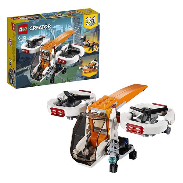 Купить Lego Creator 31071 Лего Криэйтор Дрон-разведчик, Конструкторы LEGO