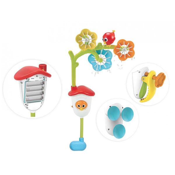 """Игрушки для ванной Yookidoo 40158 Игрушка водная """"Мобиль для ванной"""" фото"""