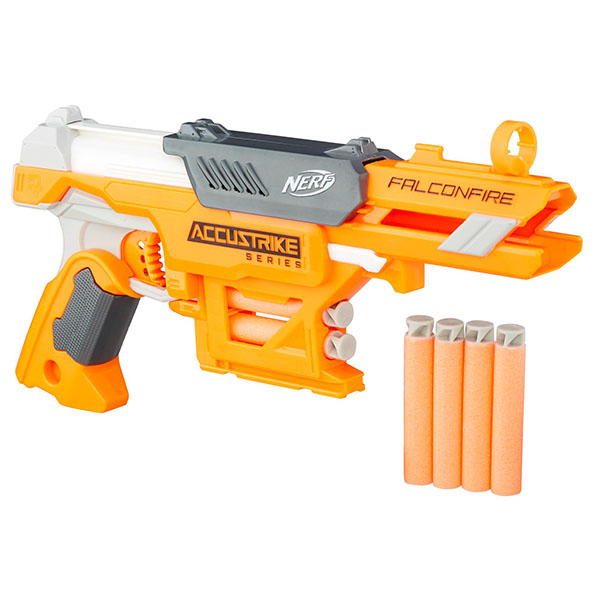 Купить Hasbro Nerf B9839 Нерф Бластер Аккустрайк Фалконфайр, Игрушечное оружие Hasbro Nerf