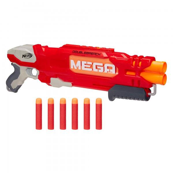 Купить Hasbro Nerf B9789 Нерф Бластер Мега Даблбрич, Игрушечное оружие Hasbro Nerf
