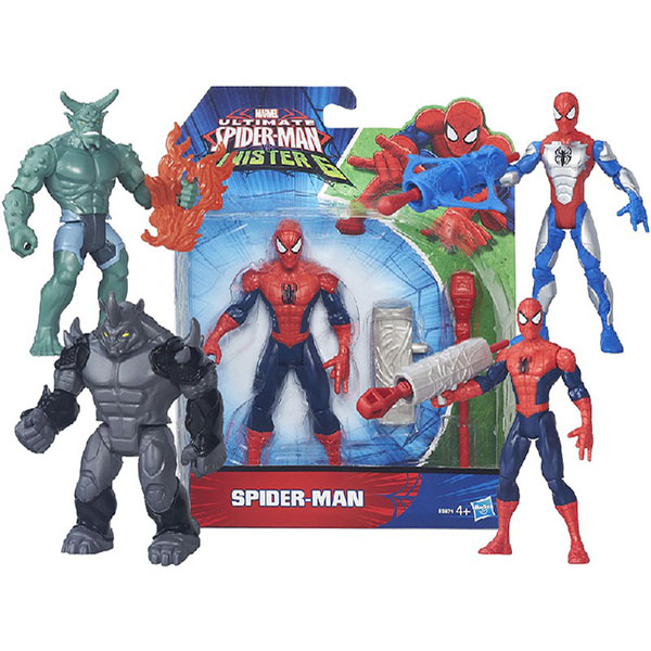 Купить Hasbro Spider-Man B5758 Фигурки Марвел c орудием сражения 15 см в ассотименте, Фигурка Hasbro Spider-Man