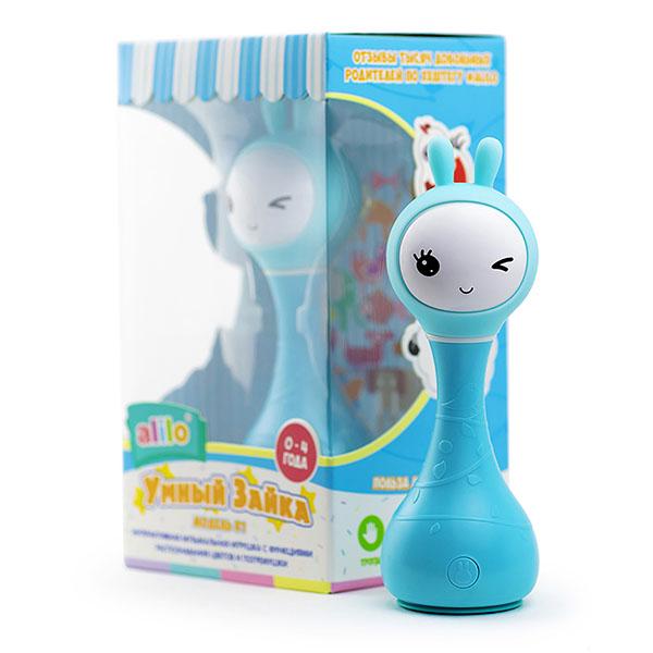 Музыкальная игрушка Alilo — Alilo 60905 Музыкальная игрушка Умный зайка, синий