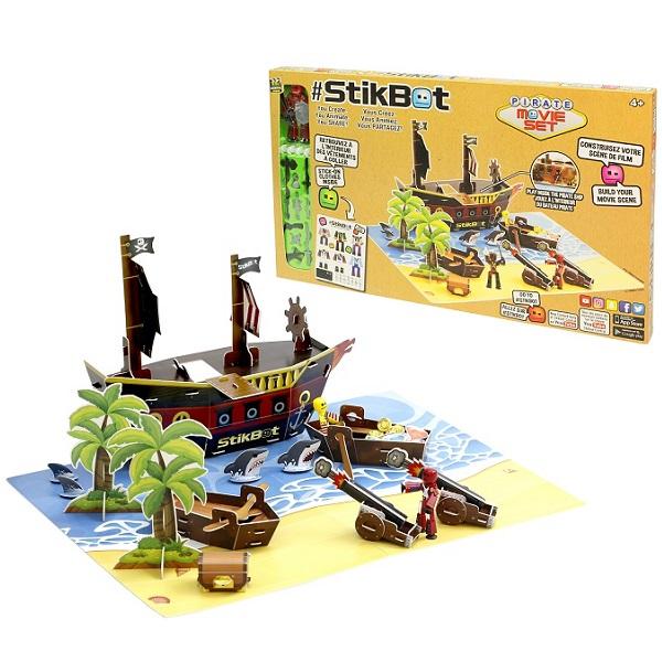 Купить Stikbot TST623P Стикбот набор Пиратский корабль , Игровые наборы и фигурки для детей Stikbot