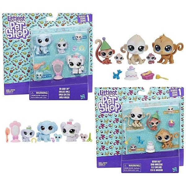 Игровой набор Hasbro Littlest Pet Shop - Мини наборы, артикул:150858