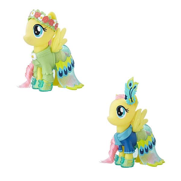 Купить Hasbro My Little Pony C0721/C1820 Май Литл Пони Пони-модницы Сияние Флатершай жёлтая, Игровой набор Hasbro My Little Pony