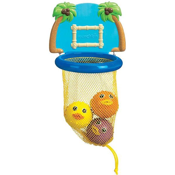 """Игрушки для ванной MUNCHKIN 11123 Игрушки для ванны """"Баскетбол"""" фото"""