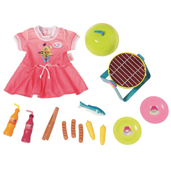 Купить Zapf Creation Baby born 824-733 Бэби Борн Набор для барбекю, Аксессуары для куклы Zapf Creation