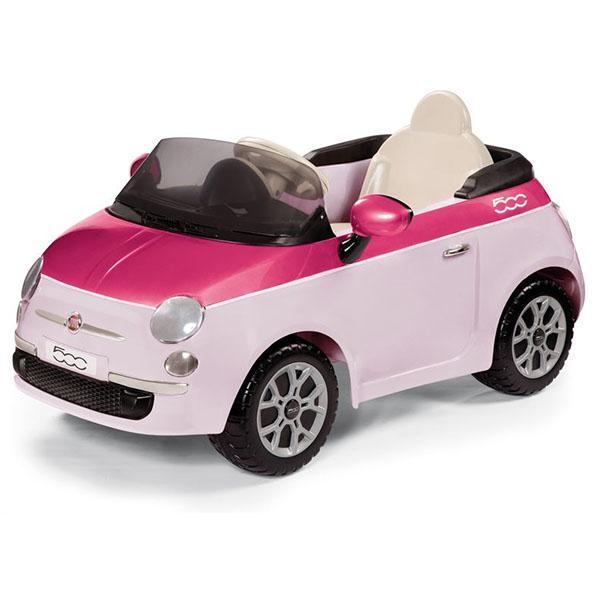 Детский электромобиль Peg-Perego ED1164 FIAT 500 (розовый)  р/у