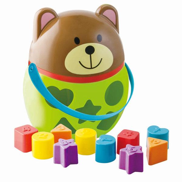 Купить LITTLE HERO 3015 Сортер Мишка , Развивающие игрушки для малышей LITTLE HERO