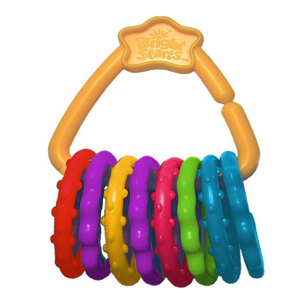 Купить BRIGHT STARTS 10228 Развивающая игрушка Веселые колечки , Развивающие игрушки для малышей BRIGHT STARTS