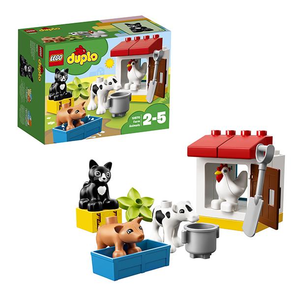 Lego Duplo 10870 Конструктор Лего Дупло День на ферме, арт:152410 - Дупло, Конструкторы LEGO