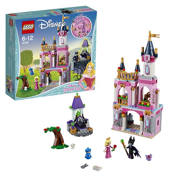 Купить Lego Disney Princess 41152 Лего Принцессы Дисней Сказочный замок Спящей Красавицы, Конструкторы LEGO, LEGO
