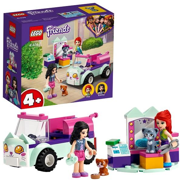 Купить LEGO Friends 41439 Конструктор ЛЕГО Подружки Передвижной груминг-салон для кошек, Конструкторы LEGO