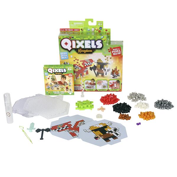 Купить Qixels 87108 Квикселс Набор для творчества Поединок с драконом , Набор для творчества Qixels