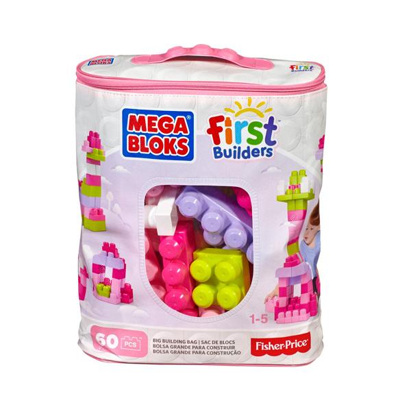 Купить Mattel Mega Bloks DCH54 Мега Блокс Конструктор из 60 деталей, Конструктор Mattel Mega Bloks