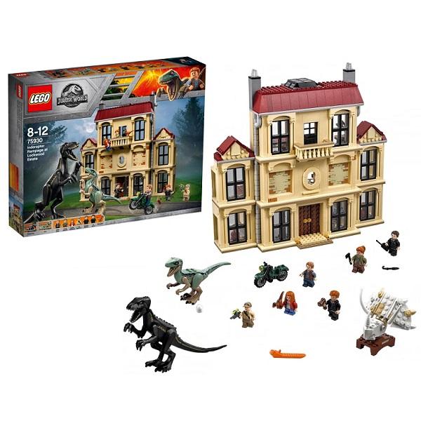Lego Jurassic World 75930 Конструктор Лего Мир Юрского Периода Нападение индораптора в поместье, арт:154070 - Мир Юрского Периода, Конструкторы LEGO