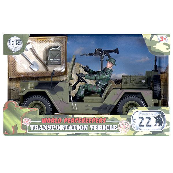 Купить World Peacekeepers MC77033 Игровой набор Сопровождение 1:18, Игровые наборы и фигурки для детей World Peacekeepers