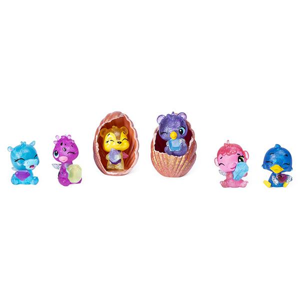 Купить Hatchimals 6046155 Хэтчималс набор из шести коллекционных фигурок Ракушка , Игровые наборы и фигурки для детей Hatchimals