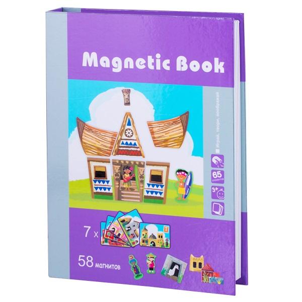 Купить Magnetic Book TAV027 Развивающая игра Строение мира , 65 деталей, Настольные игры Magnetic Book