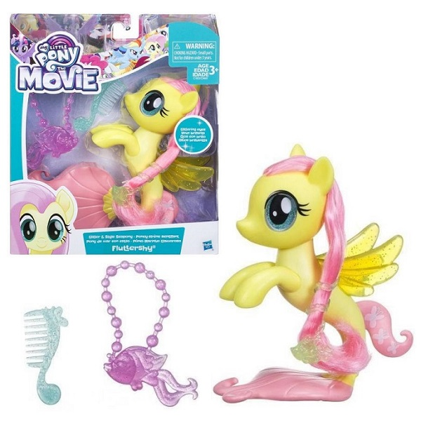 """Игровые наборы и фигурки для детей Hasbro My Little Pony C0683/C1832 Май Литл Пони """"Мерцание"""" пони-модницы Флатершай фото"""