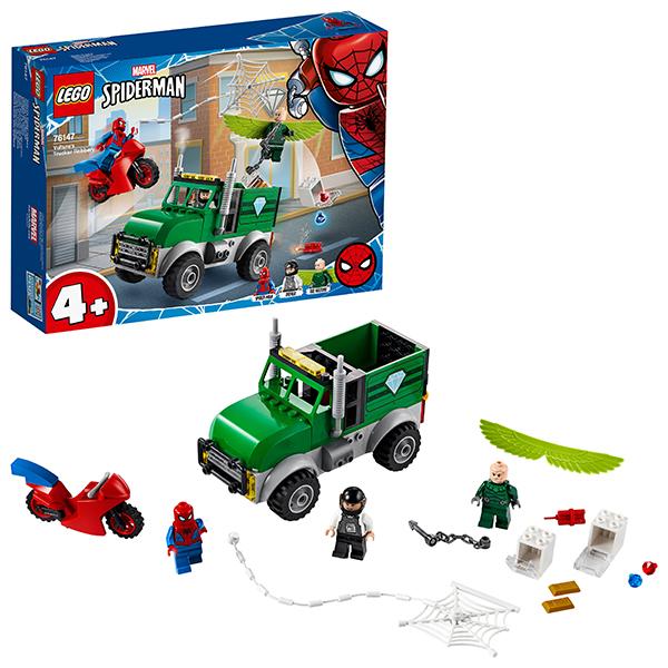 Купить LEGO Super Heroes 76147 Конструктор ЛЕГО Супер Герои Ограбление Стервятника, Конструкторы LEGO