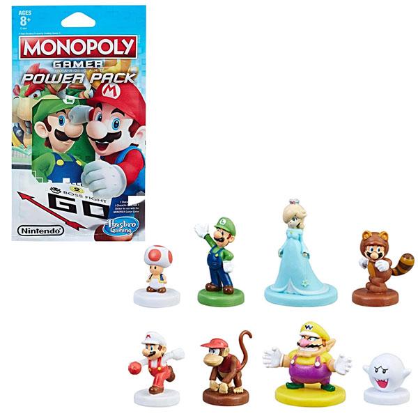Купить Hasbro Monopoly C1444 Монополия Геймер дополнительные герои, Минифигурка Hasbro Monopoly
