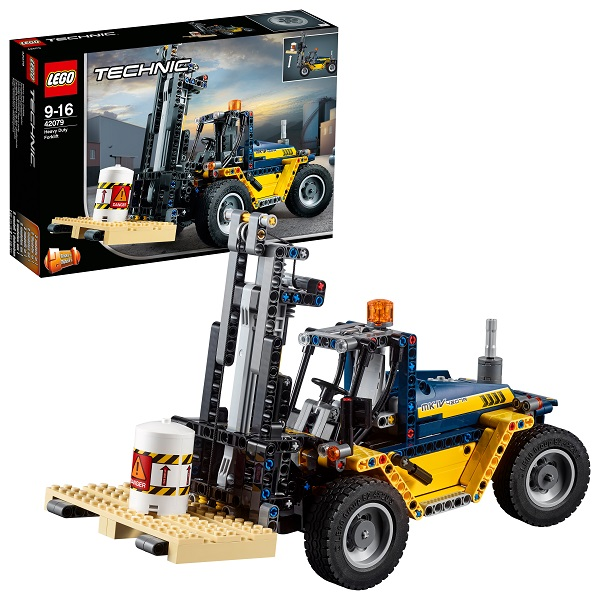 Купить LEGO Technic 42079 Конструктор ЛЕГО Техник Сверхмощный вилочный погрузчик, Конструкторы LEGO