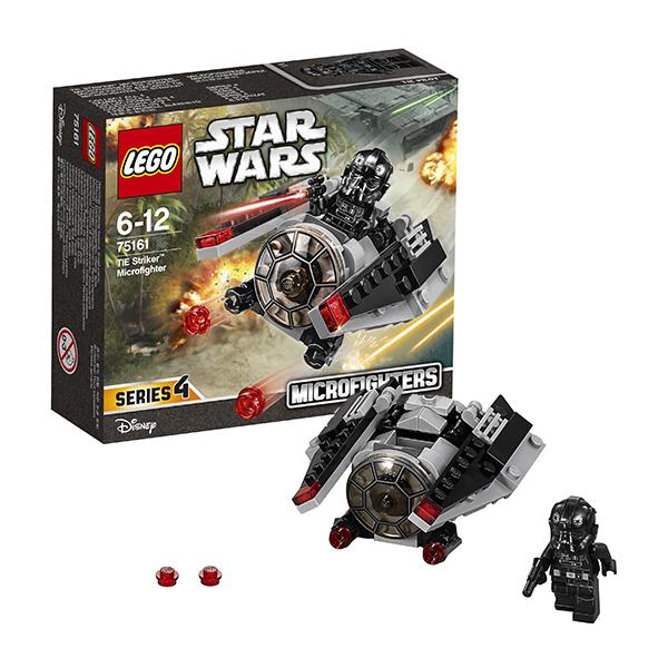 Lego Star Wars 75161 Лего Звездные Войны Микроистребитель-штурмовик TIE, Конструктор LEGO  - купить со скидкой