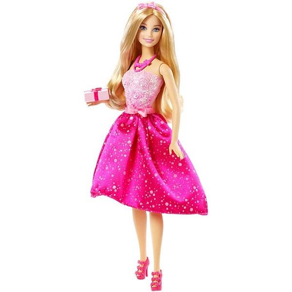Купить Mattel Barbie DHC37 Барби Кукла С Днём Рождения , Куклы и пупсы Mattel Barbie