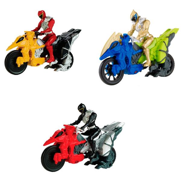 Power Rangers Samurai Dino Charge 43070 Пауэр Рейнджерс Динобайк+Фигурка 12 см (в ассортименте), Игровой набор Power Rangers Samurai  - купить со скидкой