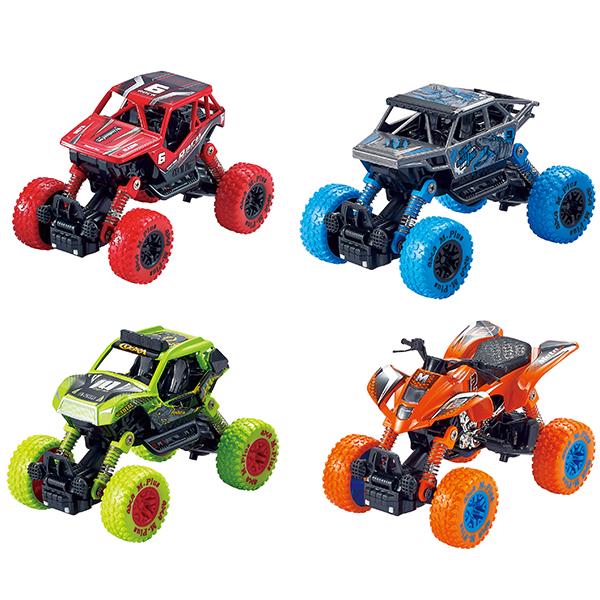 Купить Wincars YK-2203 Внедорожник с большими колёсами инерционный металлический 14 см, (в ассортименте), Игрушечные машинки и техника ТМ Wincars