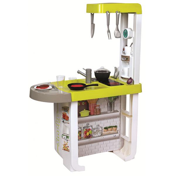 Купить Smoby 310908 Кухня электронная Cherry (звук, 25 аксесс.), Детская кухня Smoby