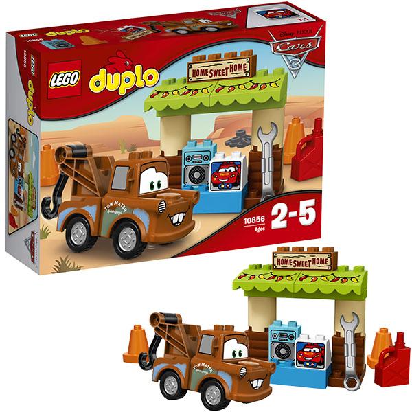 Lego Duplo 10856 Конструктор Лего Дупло Тачки Гараж Мэтра, арт:148565 - Дупло, Конструкторы LEGO