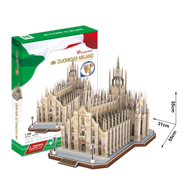 Купить Cubic Fun MC210h Кубик фан Миланский Собор (Италия), 3D пазлы Cubic Fun