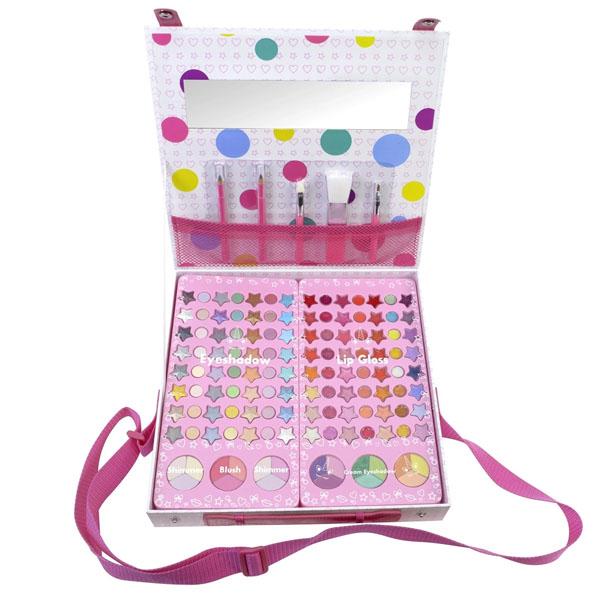 Купить Markwins 1539028E Большой Игровой набор детской декоративной косметики для лица, Косметика для девочек Markwins