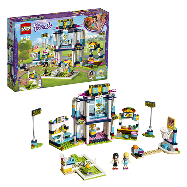 Купить Lego Friends 41338 Лего Подружки Спортивная арена для Стефани, Конструкторы LEGO