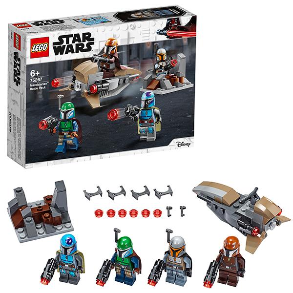 Конструкторы LEGO Star Wars 75267 Конструктор ЛЕГО Звездные войны Боевой набор: мандалорцы фото