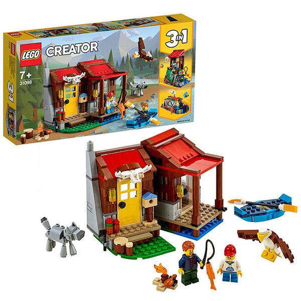 Купить LEGO Creator 31098 Конструктор ЛЕГО Криэйтор Хижина в глуши, Конструкторы LEGO