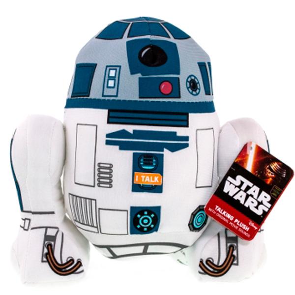 Star Wars SW02368 Звездные войны R2-D2 плюшевый со звуком
