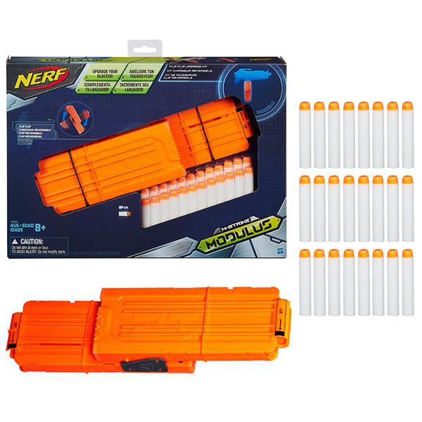 Купить Hasbro Nerf B1534 Нерф Модулус сет1: Запасливый боец, Бластер Hasbro Nerf