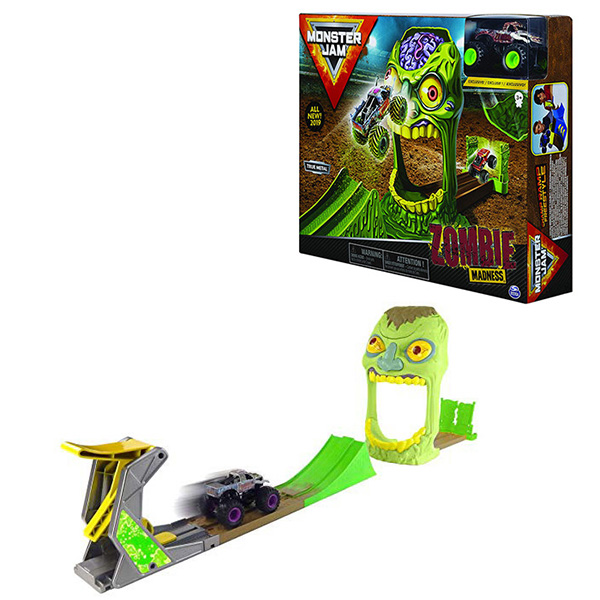 Купить Monster Jam 6045029-ZOM Монстр Джем игровой набор машинок Зона Зомби Zombie, Игровые наборы Monster Jam
