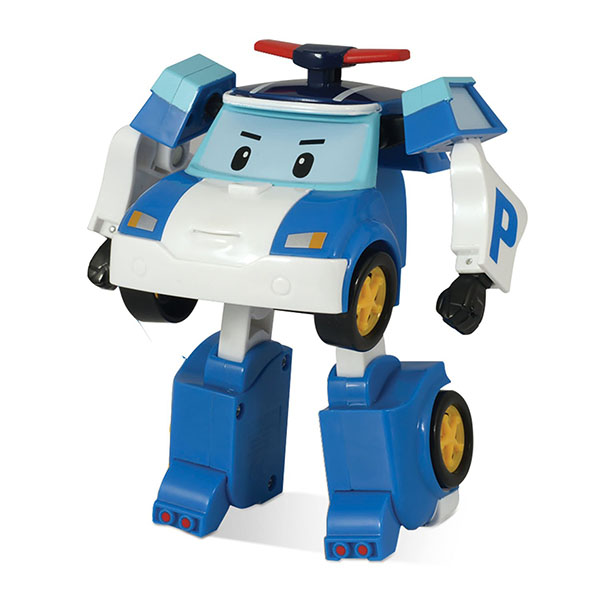 Игрушечные роботы и трансформеры POLI — POLI 83171 Трансформер Поли, 10 см.