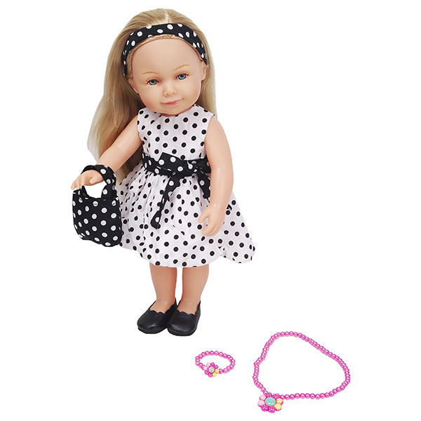 Куклы и пупсы Lilipups LVY001 Кукла с аксессуарами 40 см фото