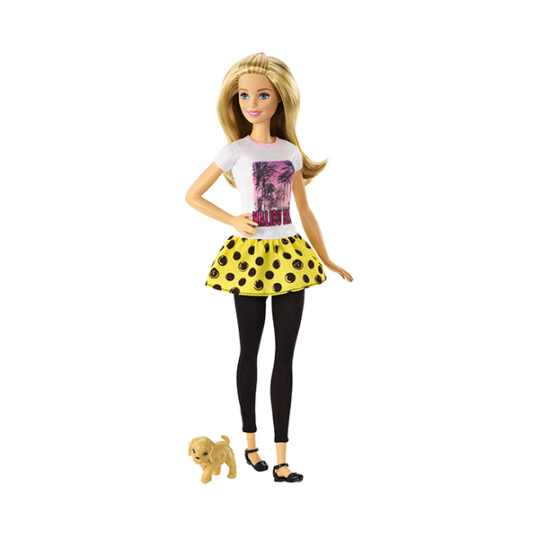 Кукла с питомцем Mattel Barbie DMB26, размер