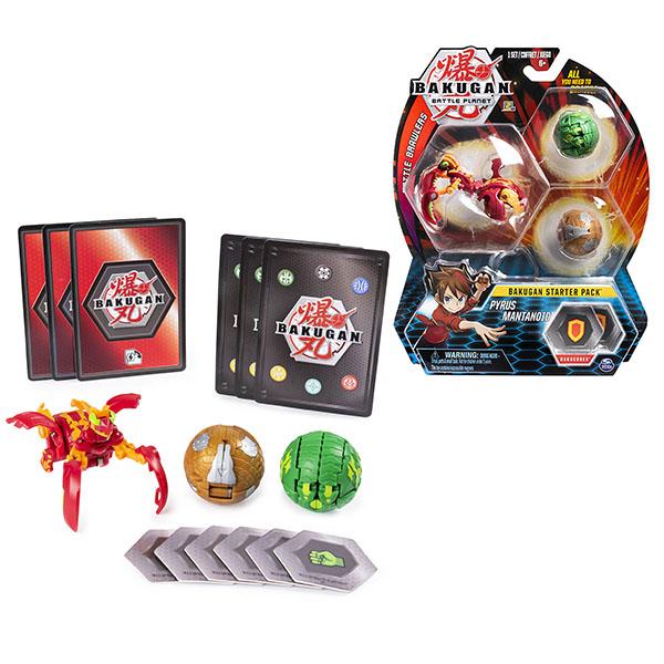 Игровые наборы и фигурки для детей Bakugan 6045144 Бакуган стартовый игровой набор фото